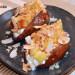Boniato con crema de coco, manzana y avellanas