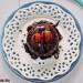 Brownie de algarroba (o cacao) y cacahuete en 5 minutos