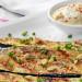 Calabacines a la parrilla con avellanas y salsa de tofu