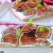 Coca de vidre ou coca de cristal aux figues fraîches