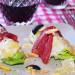 Cogollos de lechuga con carpaccio y mayonesa provenzal