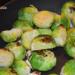 Cómo cocer coles de Bruselas en el microondas