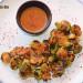 Coles de Bruselas salteadas con vinagreta de mostaza y