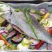 Loup de mer au four avec carottes et panais