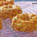 'Donuts' crujientes de maíz y cacahuete