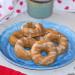 Donuts de chufa, canela y limón