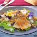 Ensalada templada de quinoa con pera, caqui, queso feta