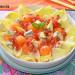 Ensalada de endibias, melón y gorgonzola