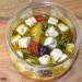 Cómo hacer queso feta marinado para ensaladas, aperitiv