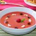 Gazpacho de frambuesas