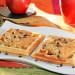 Gofres de espelta con tartinade de plátano y cacahuete