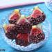 Higos con chocolate, deliciosos bombones