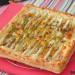 Tarta salada de hojaldre con endibias