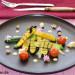 Mini calabacines a la parrilla con nueces y queso ahuma