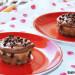 Muffins de plátano, cacahuete y chocolate
