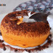 Gâteau aux patates douces et noix de coco fourré au chocolat