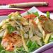 Pechuga de pollo con ensalada de hinojo, una receta lig