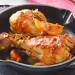 Pollo a la cazuela con comino, romero y limón