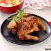 Pollo churrasco o mariposa en freidora de aire