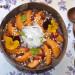 Porridge de açai con albaricoques y coco