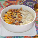 Porridge de plátano y caramelo de dátiles