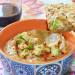 Salsa de aguacate y berenjena, un dip ligero, nutritivo
