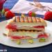 Sándwich de fresas con queso a la parrilla
