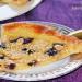 Tarta de hojaldre con crema de almendras y arándanos