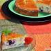 Tarta de ricota, limón y frutos rojos