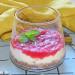 Tarta de queso en vasito
