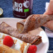 Tortitas de canela y cacao (sin harina)