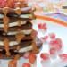 Tortitas de avena, plátano y algarroba