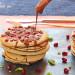 Tortitas de avena con granada (sin azúcar)