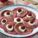 Tortitas de avena, frambuesa y remolacha