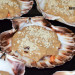Vieiras rellenas con bechamel de boletus, una receta fá