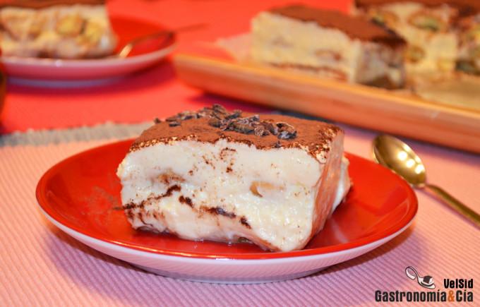 Tiramisú Sin Gluten Receta Casera