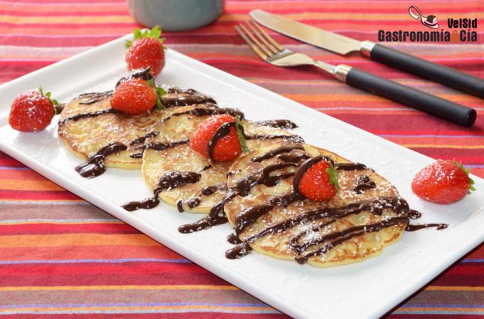 Cómo cocinar pancakes o tortitas americanas