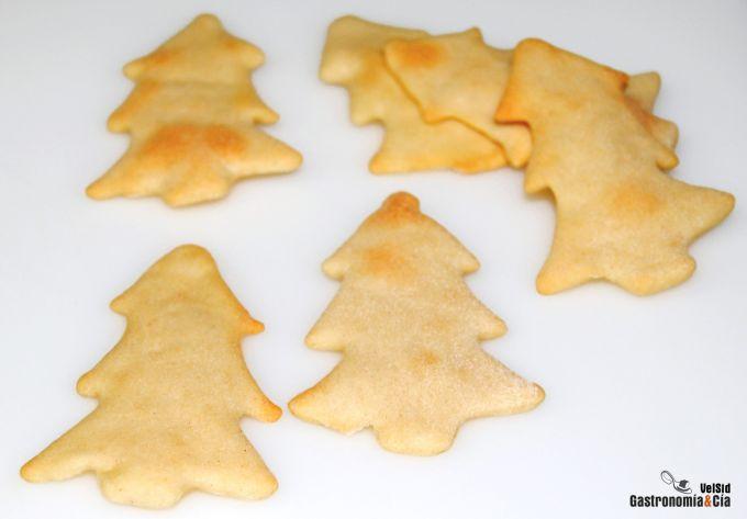 Tostadas para canapés de Navidad