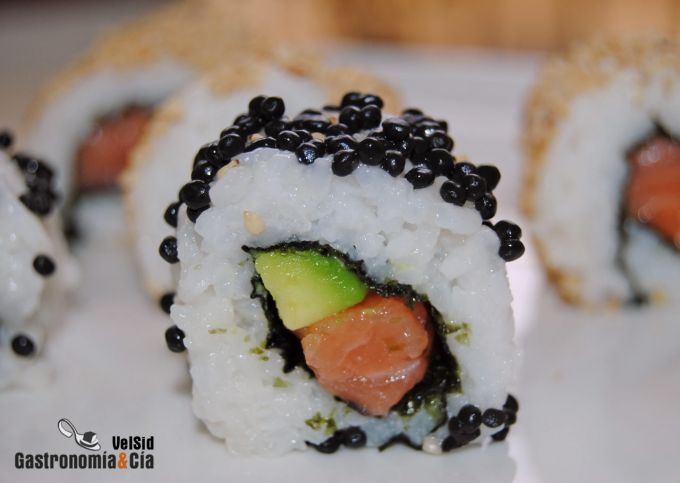Sushi Uramaki o California Roll