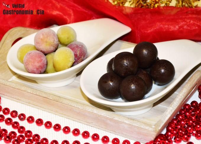 Uvas con chocolate | Gastronomía & Cía