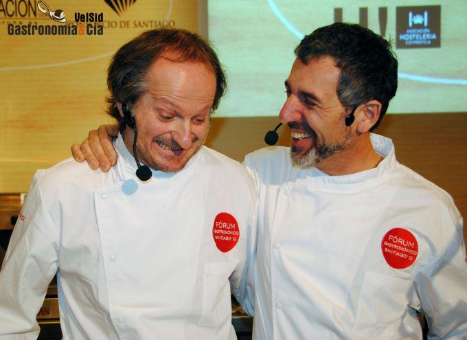 Xose Cannas en el Fórum Santiago 2012