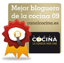 Mejor blog de Cocina 2009