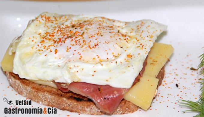 Receta con huevo