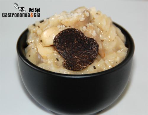 Receta de risotto de setas con trufa negra - Risoto con setas ...