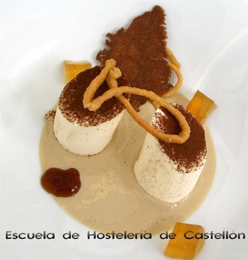 Tiramis biscuit glac de mascarpone gastronom a c a for Cursos de cocina en castellon