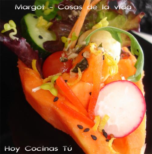 Ensalada Mágica de papaya