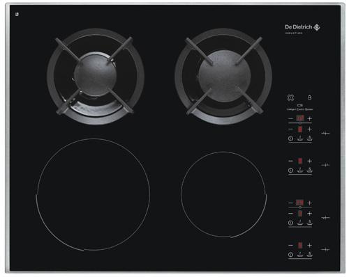 Placas de cocina mixtas gastronom a c a for Cocina vitroceramica a gas