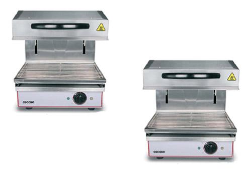 Salamandra de cocina profesional for Instrumentos de cocina profesional