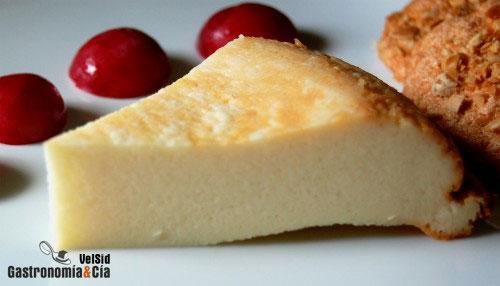Receta de tarta de queso - Postres con queso de untar ...