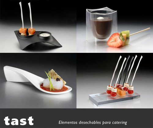 tast utensilios desechables para catering On utensilios para catering